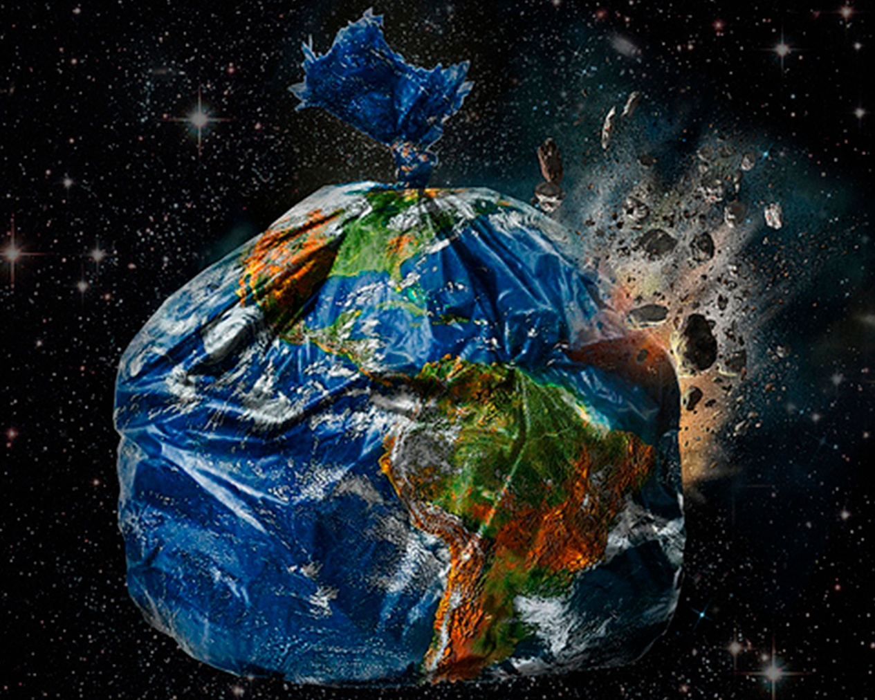 Planet Earth: Just a pile of rubbish