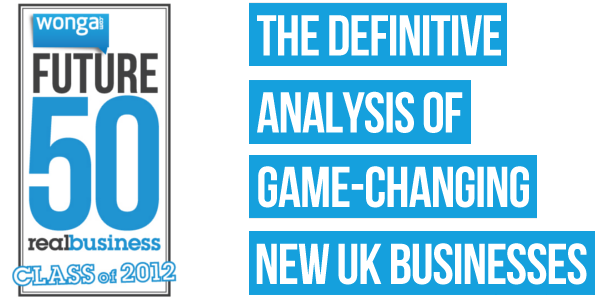 We're one of the most exciting new companies in the UK: and that's official!