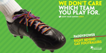 Paddy Power against homophobia